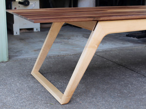 Asymmetrical Dining Table by David Cummins - Dining Table, Asymmetrical