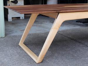 Asymmetrical Dining Table by David Cummins - Dining Table, Asymmetrical