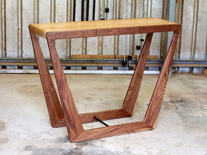 Mable console table by David Cummins - Console Table, Hall Table, Walnut, White Oak