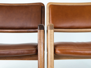 Lila Armchair by Ben Percy - Armchair, Seating, Leather Chair