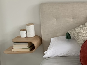 Wall hung night stand by Steven Giannuzzi  - Bedside Table, Side Table, Night Stand