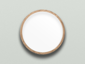 Ronde Mirror by Dane Sherwood - Round Mirror, Mirror