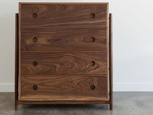 Ruka Dresser by Jeremy Lee - Dresser, Storage, Draws, Cabinet, Bedroom, Walnut, Jdlee