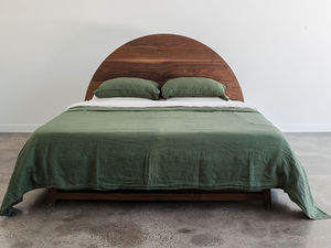 Taiyo Bed by Jeremy Lee - Bed, Timber, Bedroom, King, Queen, Walnut, Jdlee