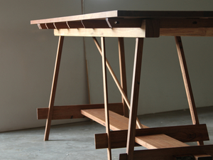 Table 2 - Display / High Dining Table by Ashley Menegon - Dining Table, Reclaimed, Recycled Timber