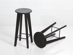 JET BAR STOOL by STUDIO ELLIOT - Handmade, Custom Made, Custom Furniture