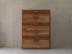 Fairlight Tallboy by James May - Tallboy, Chest, Drawers, Dresser, Storage, Blackbutt, Clothing