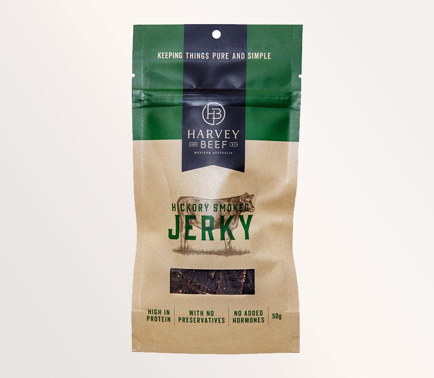 Hickory Smoked Jerky 50g