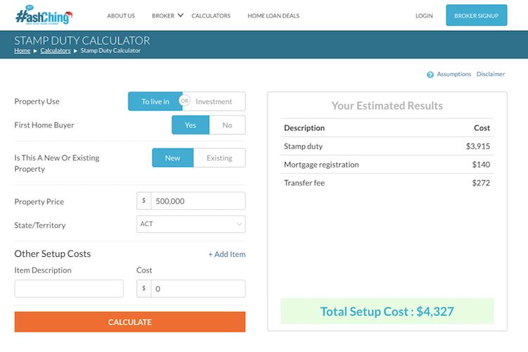Stamp Duty Calculator - HashChing
