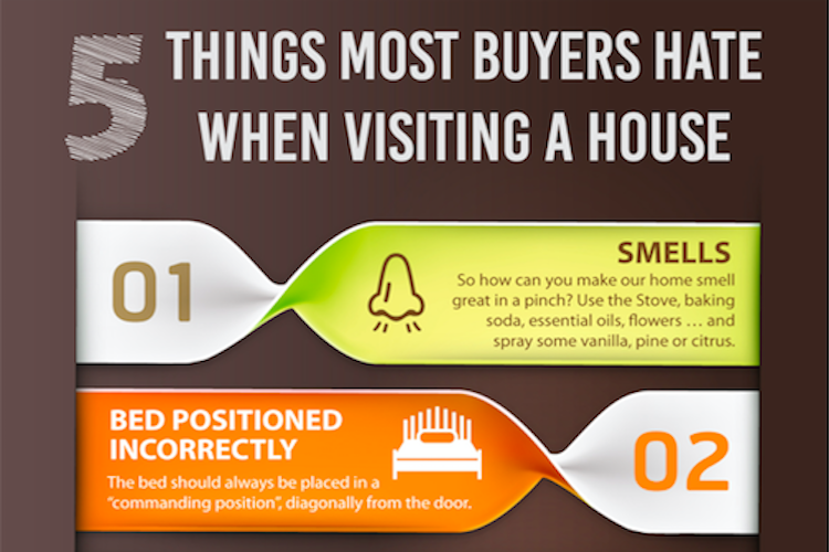 5 Things most buyers hate when visiting a house