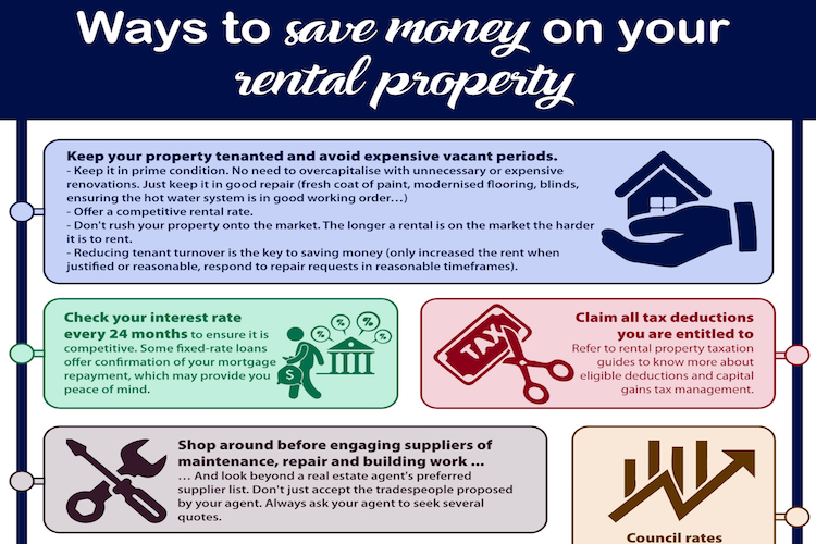ways to save money on your rental property