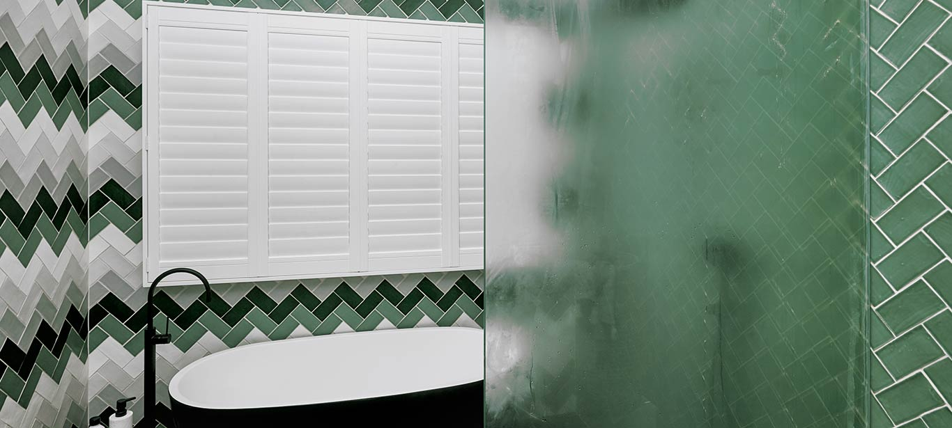Luxaflex - Products - Unique Solutions - Humid Rooms Banner image