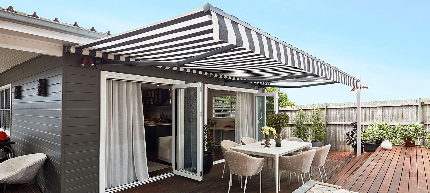 Luxaflex - Awnings - Folding Arm Awnings Page Header image