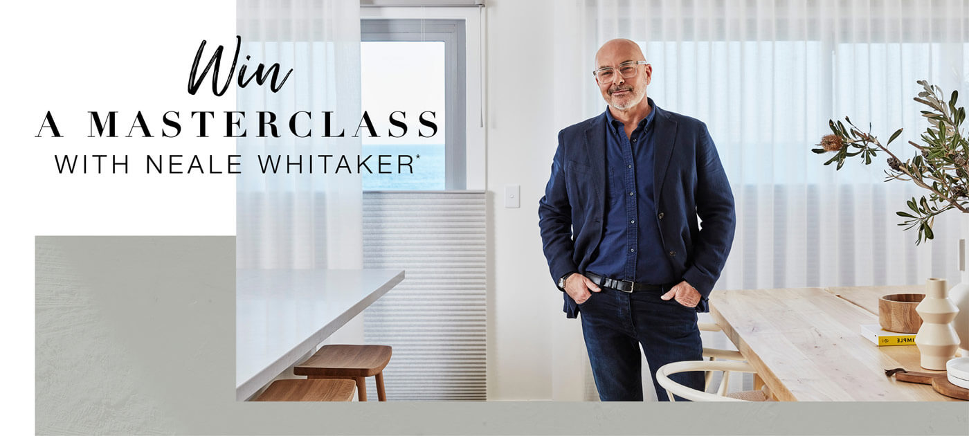 Neale Whitaker Masterclass Homepage Banner image