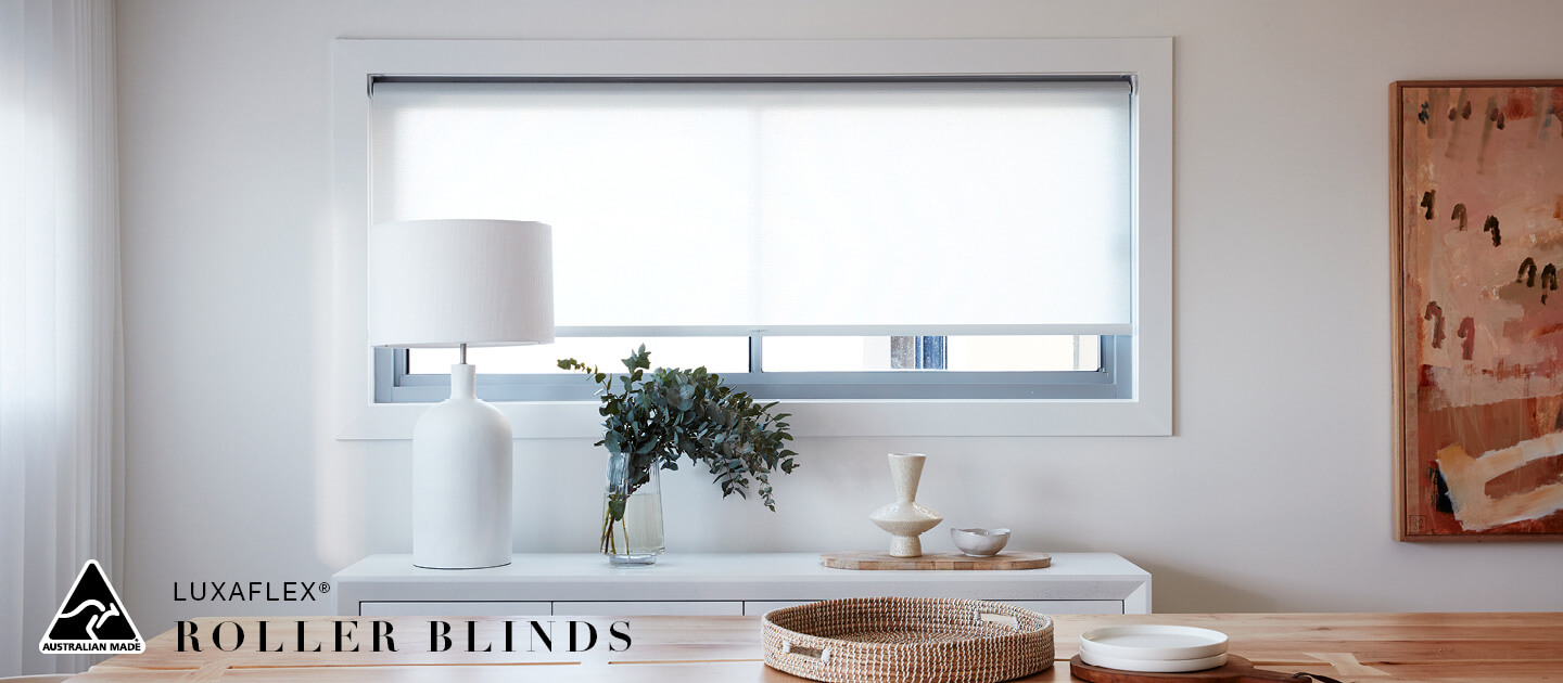 Luxaflex Showcase - Products - Softshades and Fabrics - Roller Blinds Banner 3 image