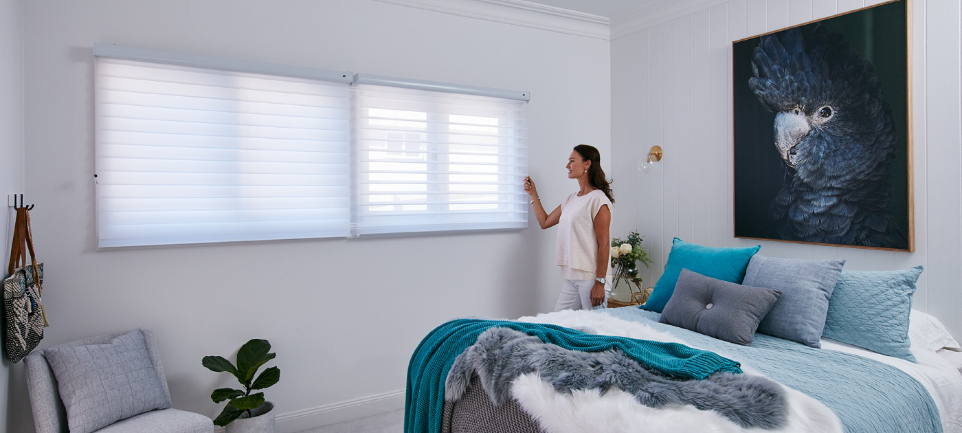 Luxaflex Showcase - Products - Softshades and Fabrics - Silhouette Shadings Banner 2 image