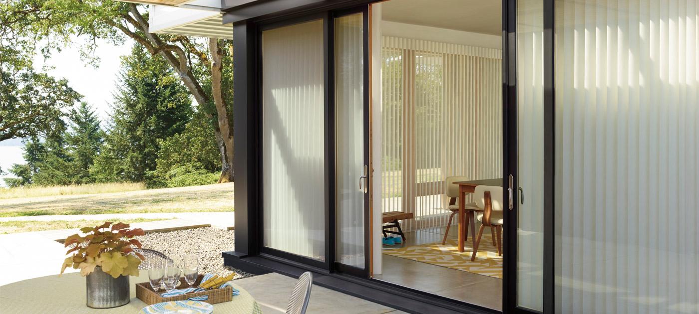 Luxaflex Showcase - Products - Unique Solutions - Sliding Bi-Fold Doors Banner image