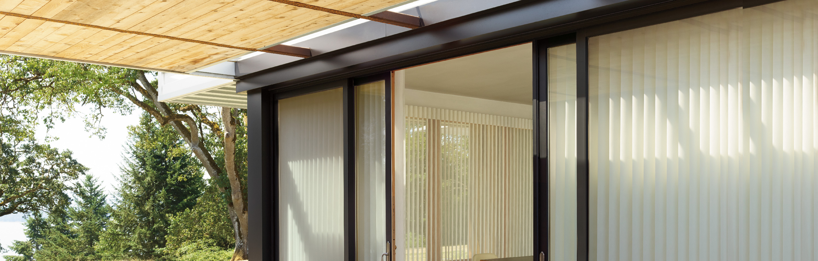 Luxaflex - Products - Softshades and Fabrics - Luminette Privacy Sheers Bottom