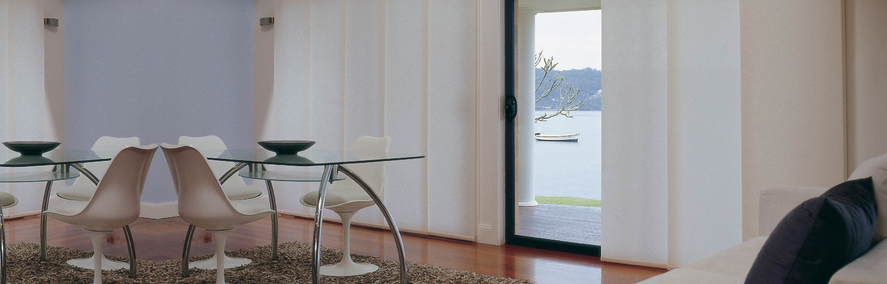 Luxaflex - Products - Softshades and Fabrics - Panel Glide Blinds Bottom