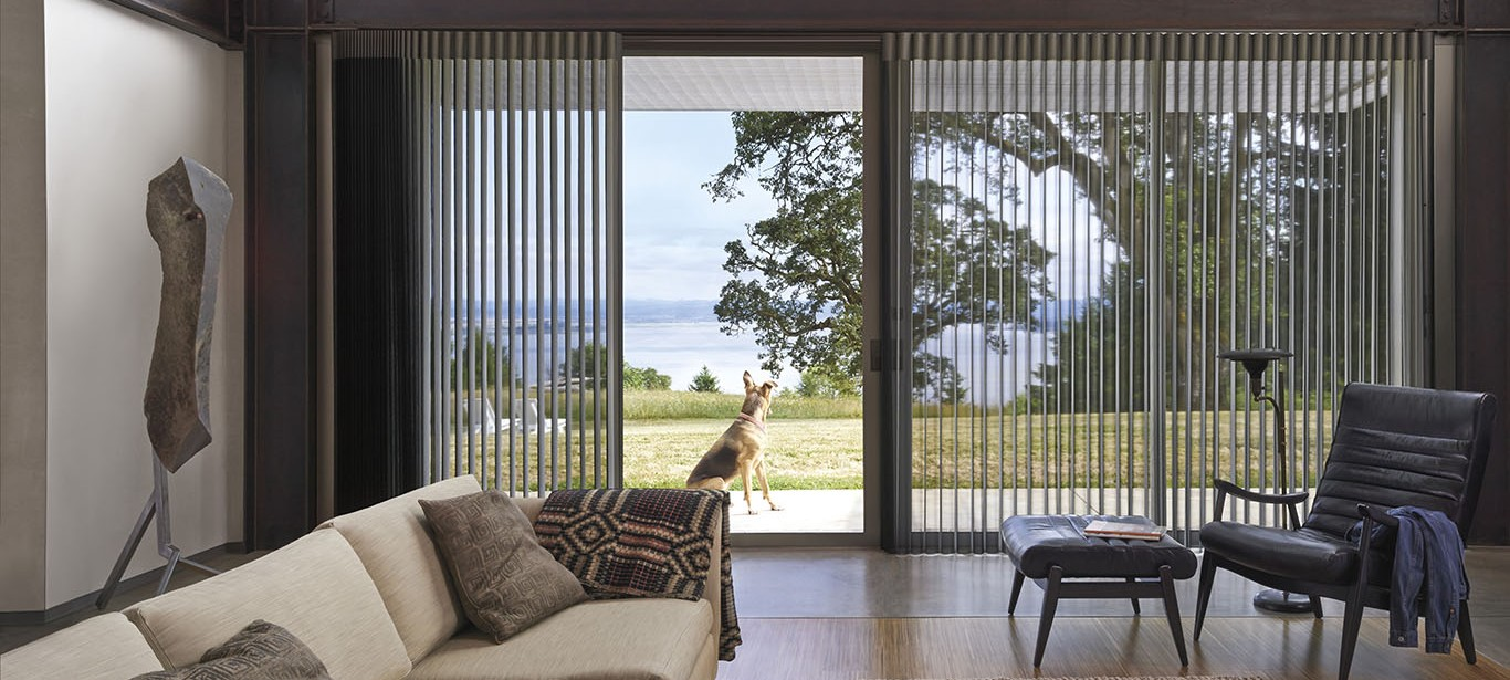 Sliding Bi-Fold Door Blinds | Burnside Blinds & Curtains Fullarton ...