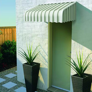Fixed Metal Awnings