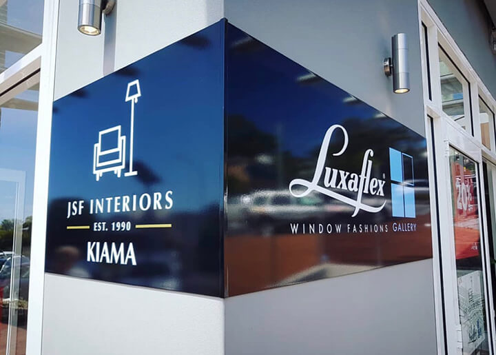 JSF Interiors Kiama - About Us - Front of Store