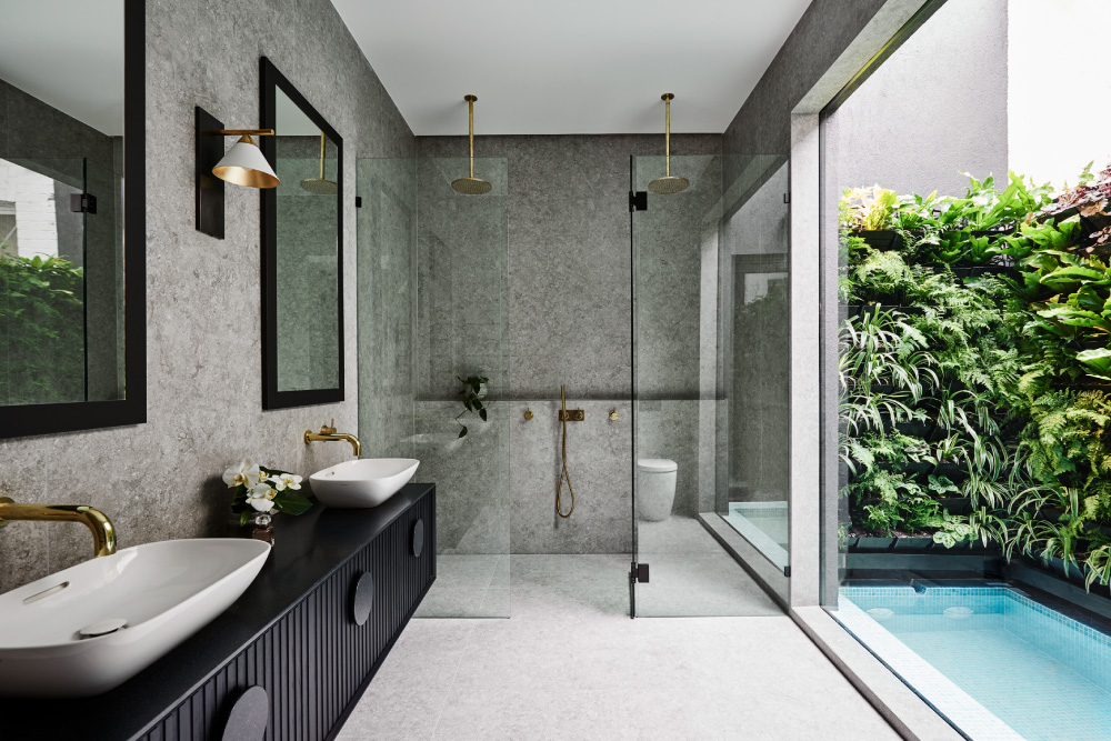 Luxaflex - Blog - Alisa & Lysandra Design Duo Series - Albert Park Project - 6 Bathroom