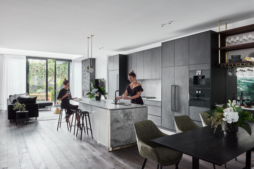 Luxaflex - Blog - Alisa & Lysandra Design Duo Series - Albert Park Project - EP3 - 4 Kitchen1