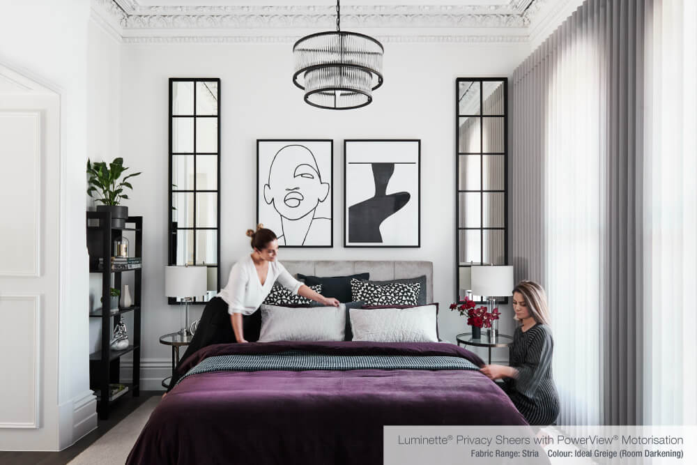 Luxaflex - Blog - Alisa & Lysandra - Let There Be Light - 4 MasterBed1