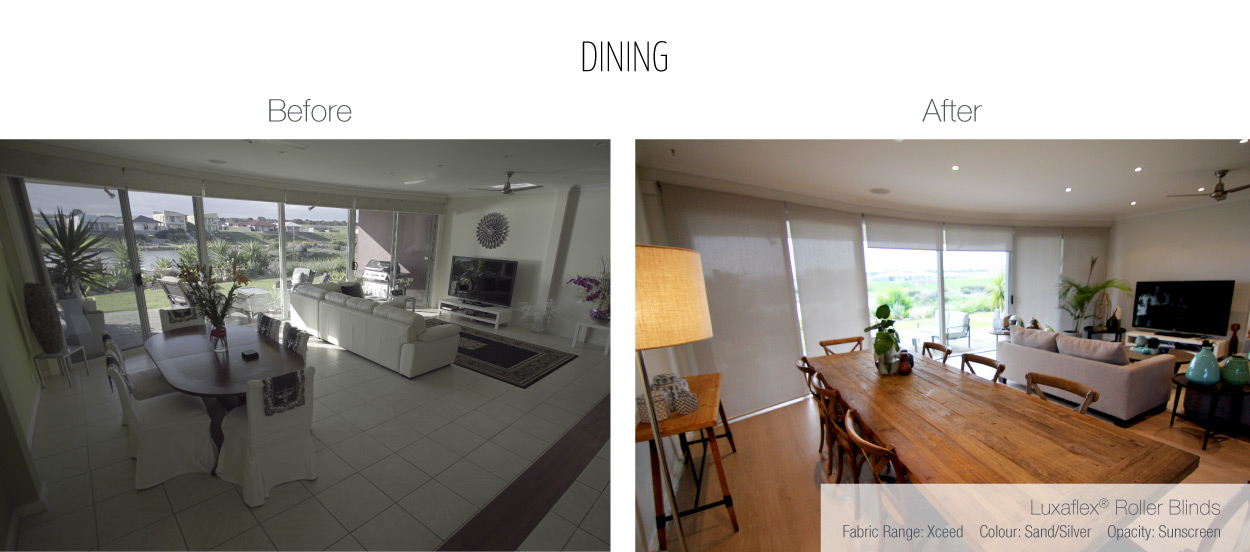 Luxaflex - Blog - Selling Houses Australia - EP11 - Dining