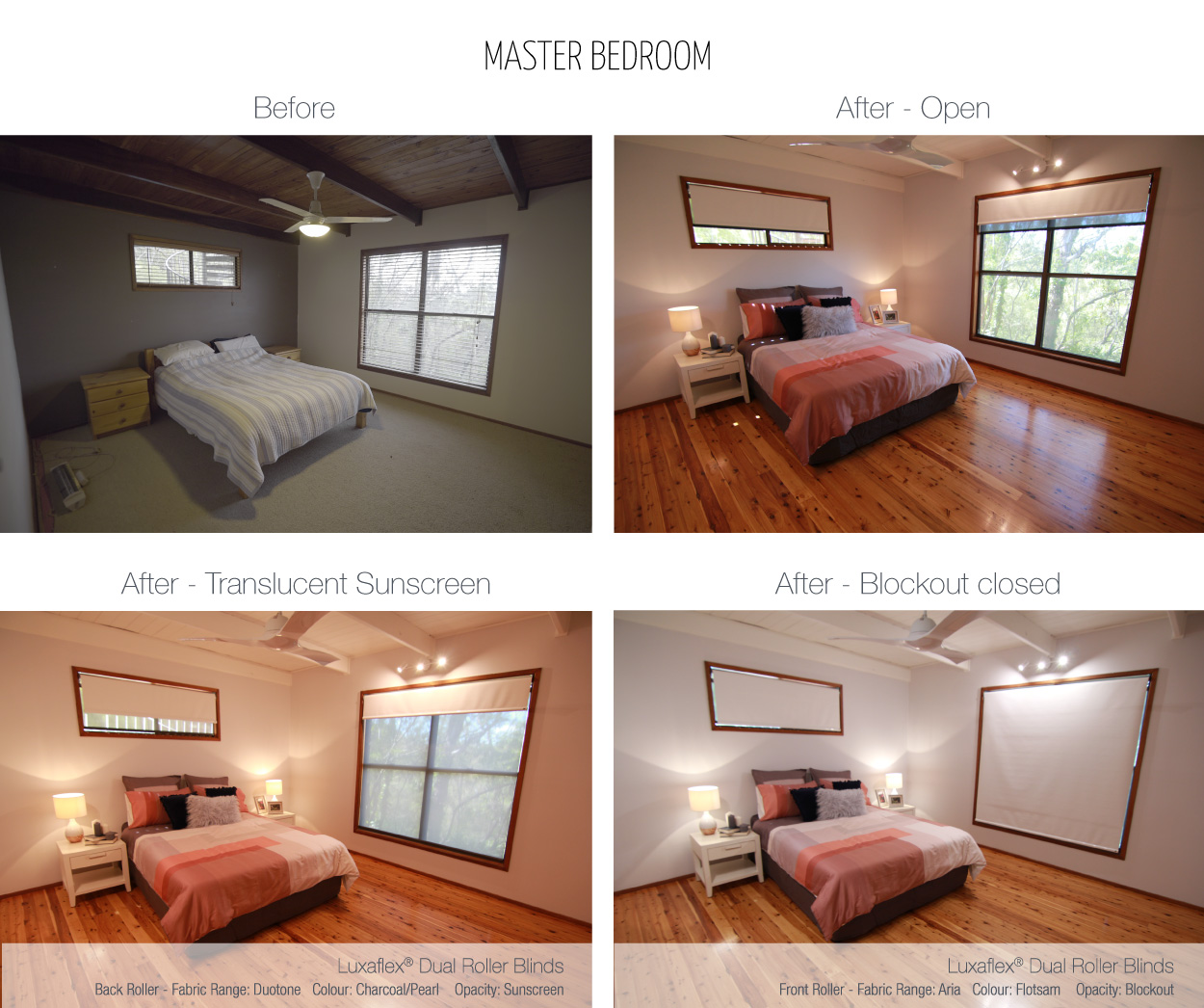 Luxaflex - Blog - Selling Houses Australia - EP13 - Master Bedroom