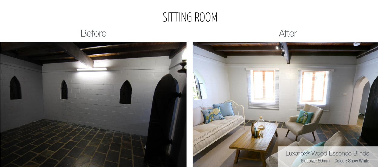 Luxaflex - Blog - Selling Houses Australia - EP5 - Sitting Room