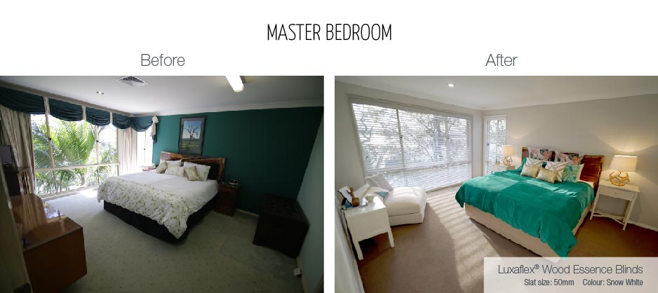 Luxaflex - Blog - Selling Houses Australia - EP7 - Master Bedroom