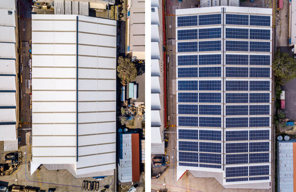 Luxaflex - Blog - Solar Panel Project - Before & After