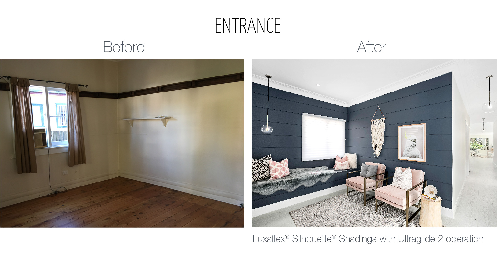 Luxaflex - Blog - Three Birds - Entrance