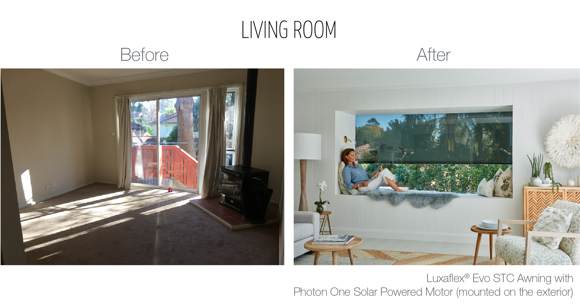 Luxaflex - Blog - Three Birds - Living Room