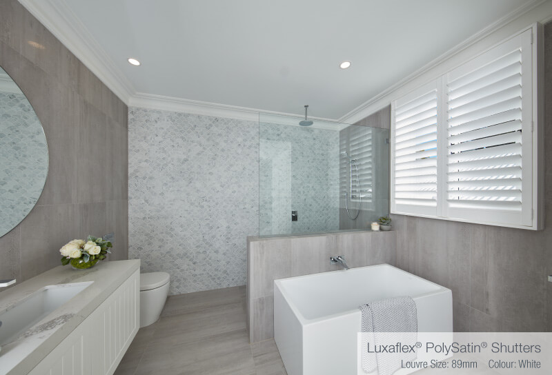 Luxaflex - Blog - Three Birds Renovations House 5 - Guest Bathroom Main After