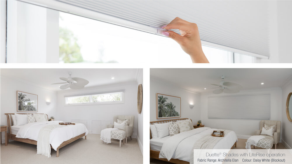 Luxaflex - Blog - Three Birds Renovations House 6 - Master Bedroom