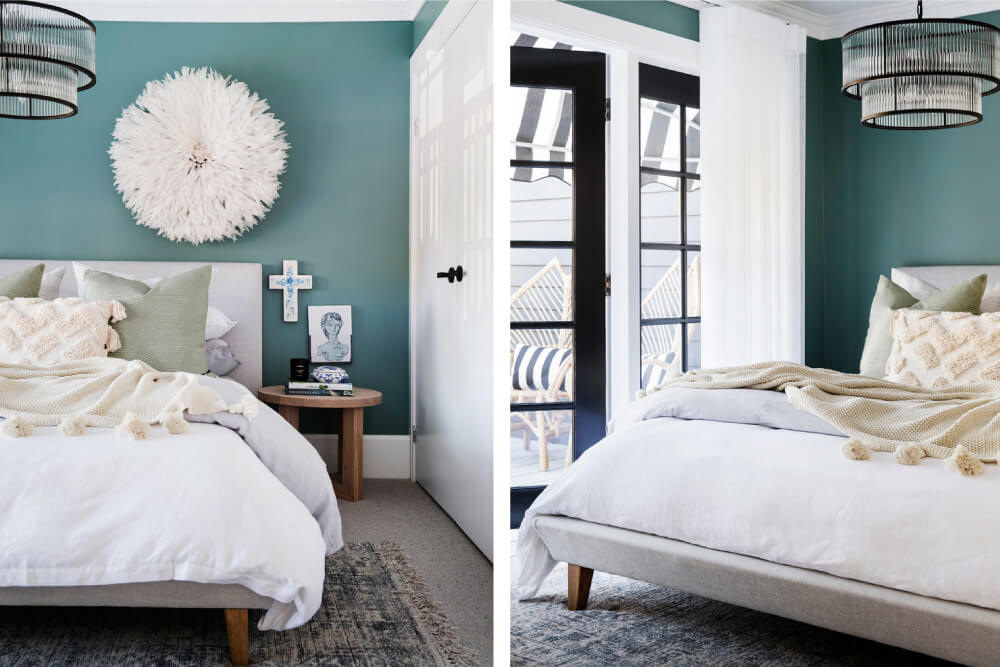 Luxaflex - Blog - Three Birds Renovations House 9 - 7 GuestBed2