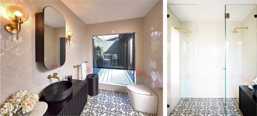 Luxaflex - Blog - Three Birds Renovations House 9 - 9 Ensuite2