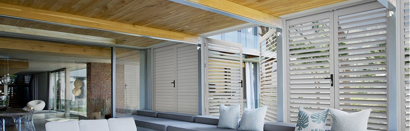 Metal Louvre Awnings Are All About Peace Of Mind With Added Security And Privacy Null VIEW METAL LOUVRE AWNINGS