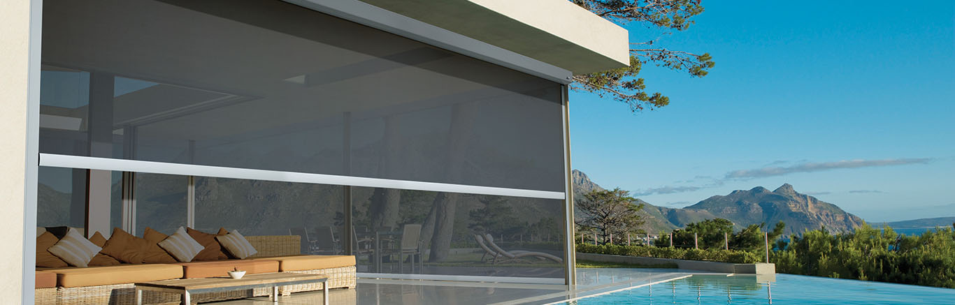 Straight Drop Awnings Luxaflex 174
