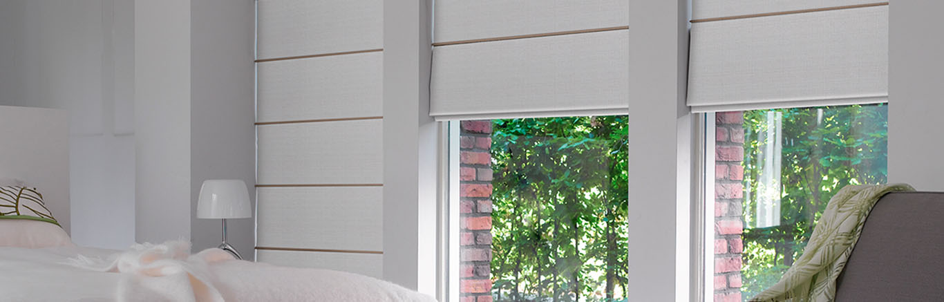 Luxaflex - Products - Softshades and Fabrics - Roman Shades RS Bottom