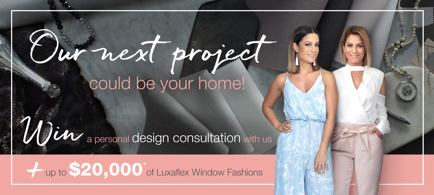 Luxaflex - Promotions - Competitions - Competition Page Banner