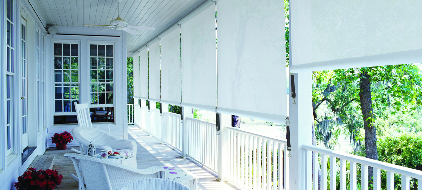 Luxaflex Showcase - Products - Exterior Collection - Straight Drop Awnings Banner image