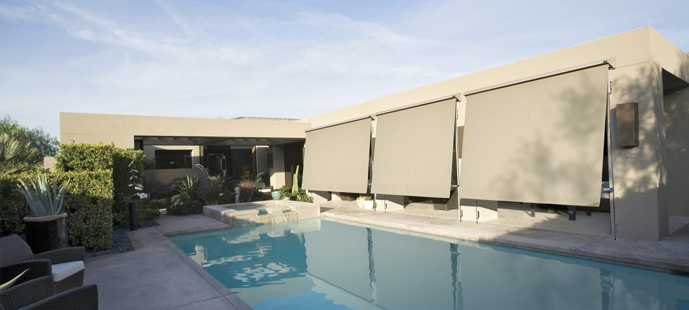 Luxaflex Showcase - Products - Exterior Collection - System 2000 Awnings Banner image