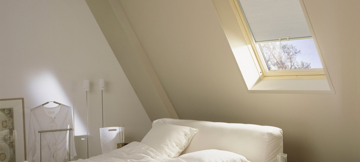 Luxaflex Showcase - Products - Unique Solutions - Skylights Banner image