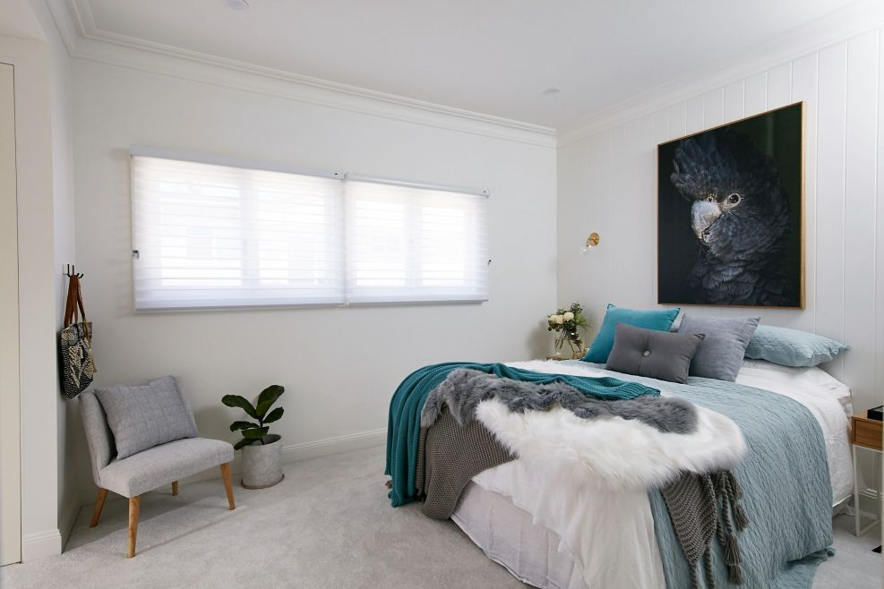 Luxaflex - Blog - Three Birds - master bedroom_after