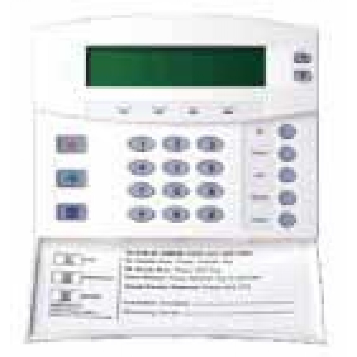 NX-148-Hills LCD Codepad for Reliance