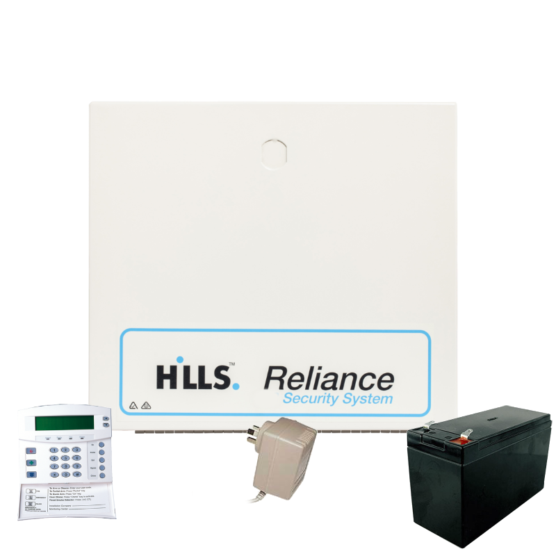 Reliance 12 Kit with Codepad, no Detectors (S8214K)